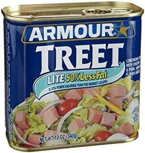 Armour  Treet Lite Luncheon Loaf, 12-Ounce Cans (Pack of 12)