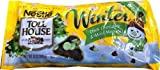 Nestle Toll House Dark Chocolate and Mint Baking Morsels Chips Winter Theme (Pack of 3) 10oz Bag by Nestle [Foods]