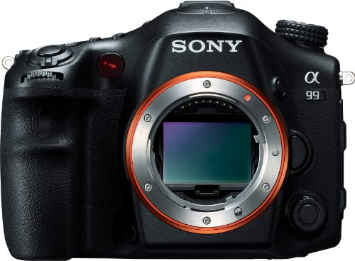 Sony SLTA99V Alpha SLT-A99V Full-Frame 24.3 MP SLR Digital Camera with 3-Inch LED – Body Only (Black)