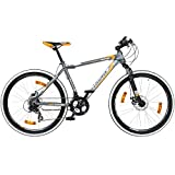 26 Zoll Mountainbike Galano TOXIC / MANIC / ROGUE / VAPOR Hardtail, Farbe:grau/orange