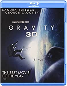 Gravity (3D Blu-ray + Blu-ray + DVD +UltraViolet Combo Pack)