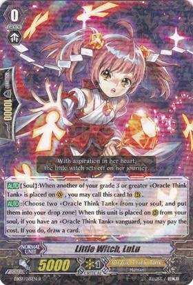 Cardfight!! Vanguard Tcg - Little Witch, Lulu (Eb07/015) - Extra Booster Pack 7: Mystical Magus front-774423