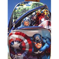 Marvel Avengers Assemble Backpack And Detactable Lunch Tote