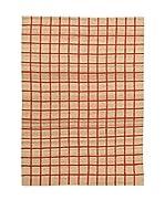 Kilim Carpets by Jalal Alfombra Kilim Box (Rojo)