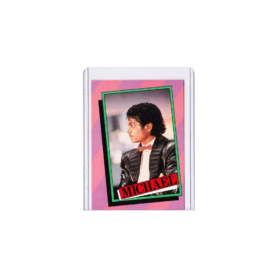 Michael Jackson 1984 Topps Trading Card #33
