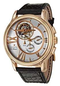 Zenith Academy Tourbillon Chronograph Men's Automatic Watch 18-1260-4005-02-C506 from Zenith