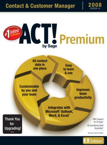 Act! By Sage Premium 2008 10.0 Upgrade