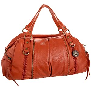 The SAK Solona Satchel, $79.60-$83.54.  Offered in a bunch of fun different colors.