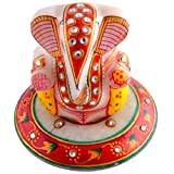 Craft and Craft Handicrafts's Round Choki Ganesh Ji