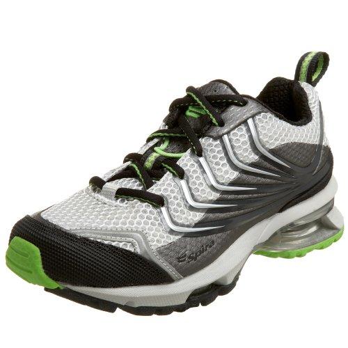 Spira Women's Paseo Mesh Trail Running Shoe,Metal/Graphite/Lime,5.5 M