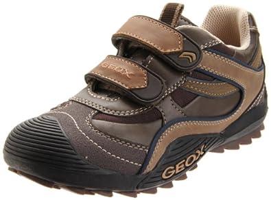 Geox Junior Savage J1324S05445C0021, Jungen Sneakers, Braun (brown/beige C0021), EU 31