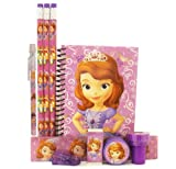 Disney Princess Sofia Stationery Set - Purple
