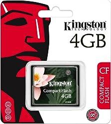 Kingston 4GB Compact Flash Card