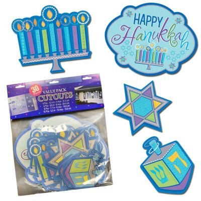 Hanukkah Cutout Value Pack
