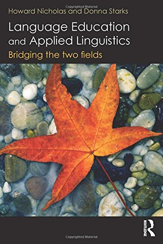 Language Education and Applied Linguistics: Bridging the two fields