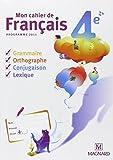 Mon cahier de français 4e cahier de l'eleve