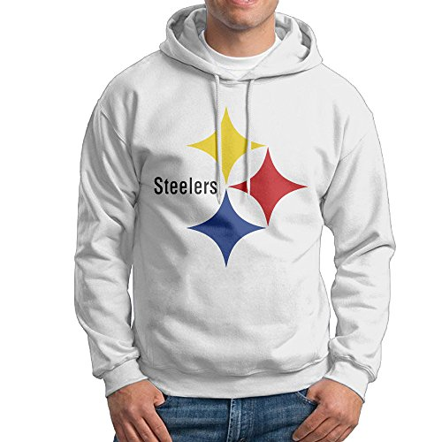 P Football Team Steelers Sweatshirts For Men Size XL White (Razor Scooter Ninja Turtles compare prices)