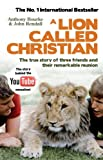 Anthony Bourke A Lion Called Christian