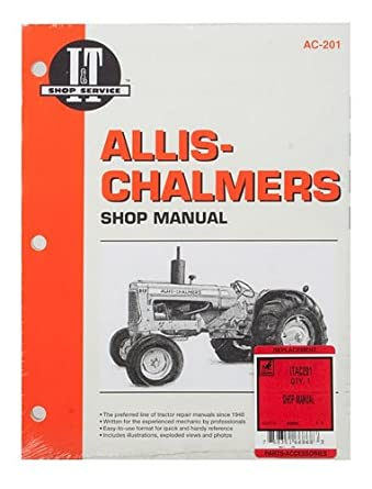 Amazon.com: COLLECTION MAN Allis Chalmers 160 170 175 D10