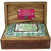 Octavius 200gms Whole Leaf Assam Tea In Carved Wooden Gift Box