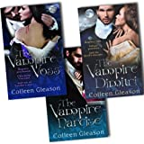 Colleen Gleason The Regency Draculia 3 Books Collection Pack Set RRP: �23.97 (The Vampire Narcise, The Vampire Dimitri , The Vampire Voss)by Colleen Gleason