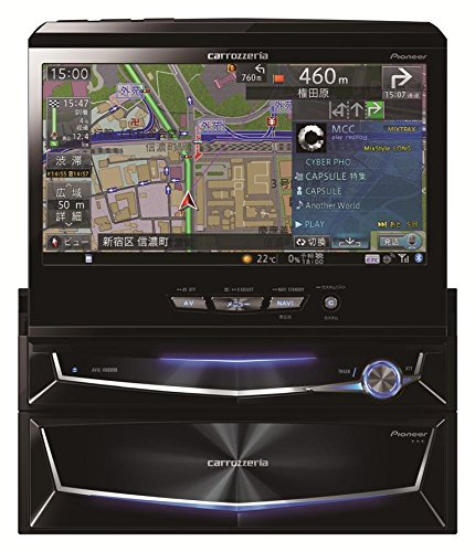 Pioneer  7V型ワイドVGA地上デジタルTV/DVD-V/CD/Bluetooth/USB/SD/チューナー・5.1ch対応・DSP AV一体型HDDナビゲーション AVIC-VH0999