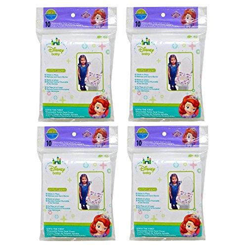Disney Neat Solutions 40 Piece Potty Topper, Princess Sofia/Pink - 1