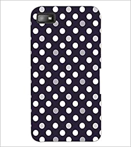 PrintDhaba Pattern D-5255 Back Case Cover for BLACKBERRY Z10 (Multi-Coloured)