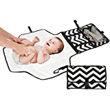 Reperkid™ Travel Diaper Changing Station For Babies - Foldable Mat With Detachable Changing Pad - Waterproof,...