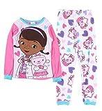 Disney Doc McStuffins With Lambie Toddler Baby Girls 2 Piece Pajamas