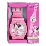 Kids Disney Wall Clock Wrist Watch Style Strap 92 cm (Minnie Mouse)