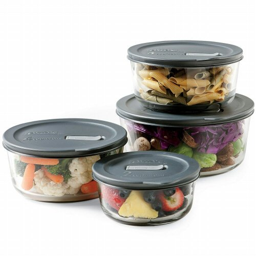 No Leak Lids Eight Piece Food Storage Vessels