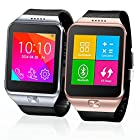 Indigi® SWAP GSM Wireless + Bluetooth Smart Watch Phone Unlocked AT&T / T-mobile (Silver)