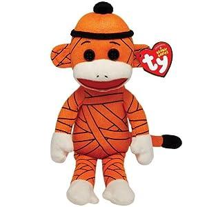 Ty Beanie Babies Sock Monkey - Mummy