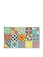 Ambiance Sticker Alfombra De Vinilo Bright Tile Mix