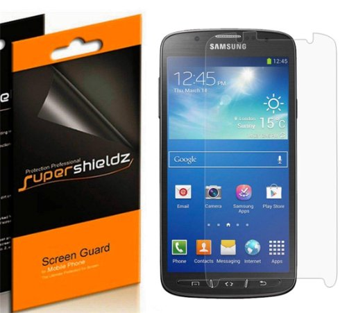 Supershieldzz- Hd Clear Screen Protector Cover For Samsung Galaxy S4 Active (6 Packs)- Lifetime Replacement- Retail Packaging