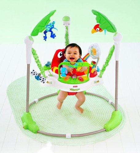 fisher price baby gear k7198 rainforest jumperoo deine nr 1 quelle f r spielzeuge. Black Bedroom Furniture Sets. Home Design Ideas