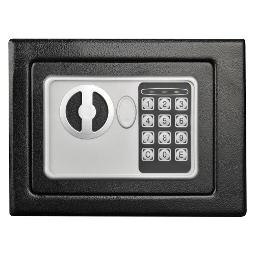 Stalwart Electronic Deluxe Digital Steel Safe,, Black by Stalwart