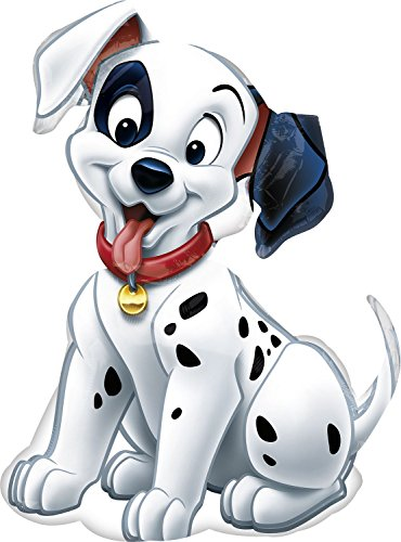 "Disney 101 Dalmatians Puppy Dog Shape 32"" Mylar Foil Balloon - 1"