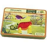 Mudpuppy Dinosaurs Magnetic Design Set Multi