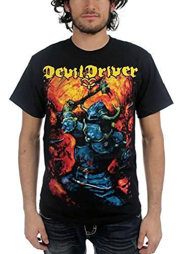 Devil Driver - Top - Uomo Nero  nero