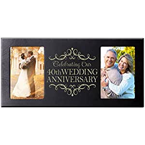 Wedding Gifts For Parents Amazon : Amazon.com - 40th Wedding Anniversary Parent Wedding Gift 40 Year ...