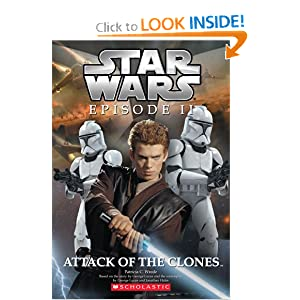 Star Wars, Episode II: Attack of the Clones (Junior Novelization) by Patricia C. Wrede, George Lucas and Jonathan Hales