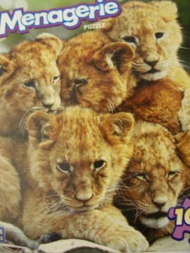 Menagerie 100 Piece Animal Puzzle ~ Pride Together