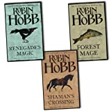 Robin Hobb Soldier Son Trilogy 3 Books Collection Pack Set RRP: £24.99 (Shaman's Crossing, Forest Mage, Renegade's Magic) Robin Hobb
