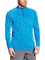 Under Armour Camiseta Técnica Ua Tech Jacquard 1/4 Zip (Azul)