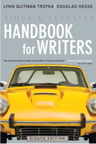 Simon & Schuster Handbook for Writers (with MyCompLab NEW with E-Book Student Access Code Card) (8th Edition)