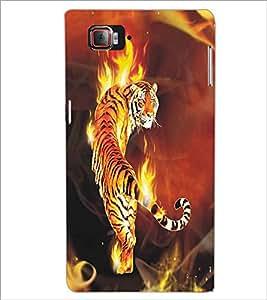 LENNOVO VIBE Z2 PRO K920 FIRE TIGERS Designer Back Cover Case By PRINTSWAG