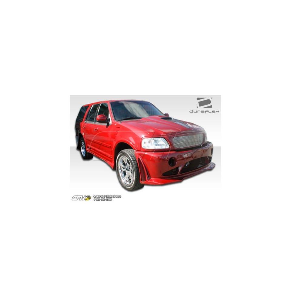 1997 2002 Ford Expedition Duraflex Platinum Body Kit   4 Piece   Includes Platinum Front Bumper Cover (101822) Platinum Rear Bumper Cover (101823) Platinum Side Skirts Rocker Panels (101824) Automotive