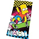 Childrens/Kids Boys Bart Simpson Funk Design Beach/Bath Towel